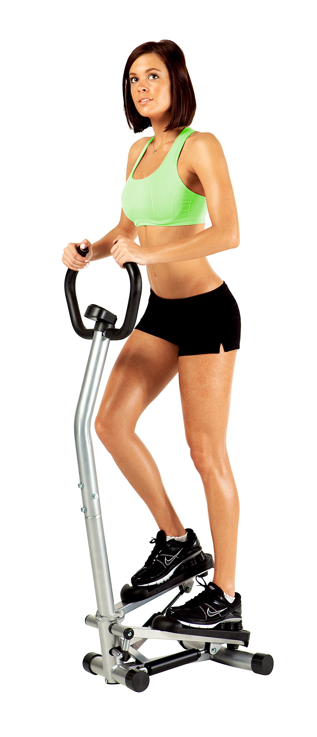 Marcy Home Cardio Exercise Mini Stepper with Handle and Display MS-95 by Marcy