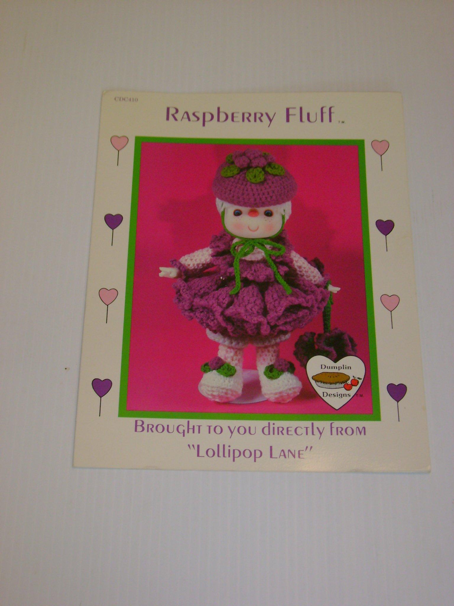 Raspberry Fluff Lollipop Lane Crochet Doll Body Outfit