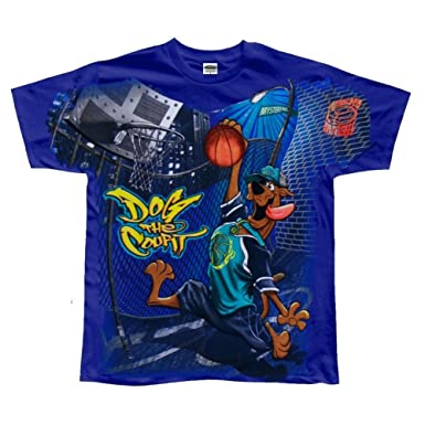 Amazoncom Scooby Doo Boys Basketball Youth T Shirt Youth Medium