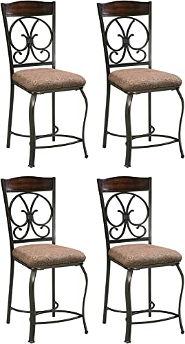 Signature Design Metal Bar Stool