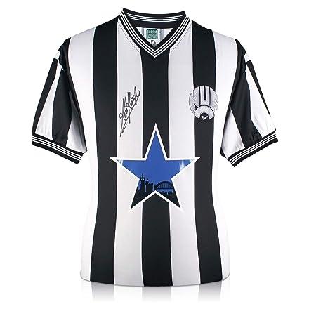 exclusivememorabilia.com Camiseta de fútbol Newcastle United firmada por Kevin Keegan: Amazon.es: Deportes y aire libre