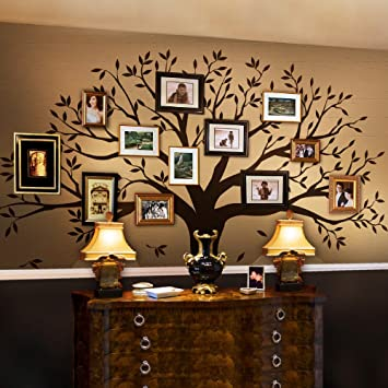 Amazoncom Family Tree Wall Decal By Simple Shapes Chestnut Brown