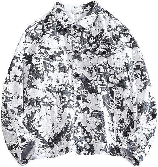 M-4XL Gジャン デニムジャケット メンズ 春秋 大きいサイズ 折り襟 ジージャン 防風 防寒 ストレッチ ゆったり ヒップホップ ファッション カッコイイ 合わせやすい 通勤 通学 お出かけ 絞り染め 3色選べる