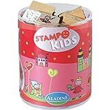 """Aladine - Stampo Kids, kit 15 sellos, diseño """"En el país de las hadas"""" (ALSE03315)"""