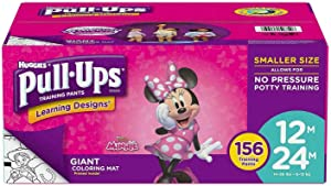 Huggies Pull-Ups Training Pants for Girls 12M-24M 156CT