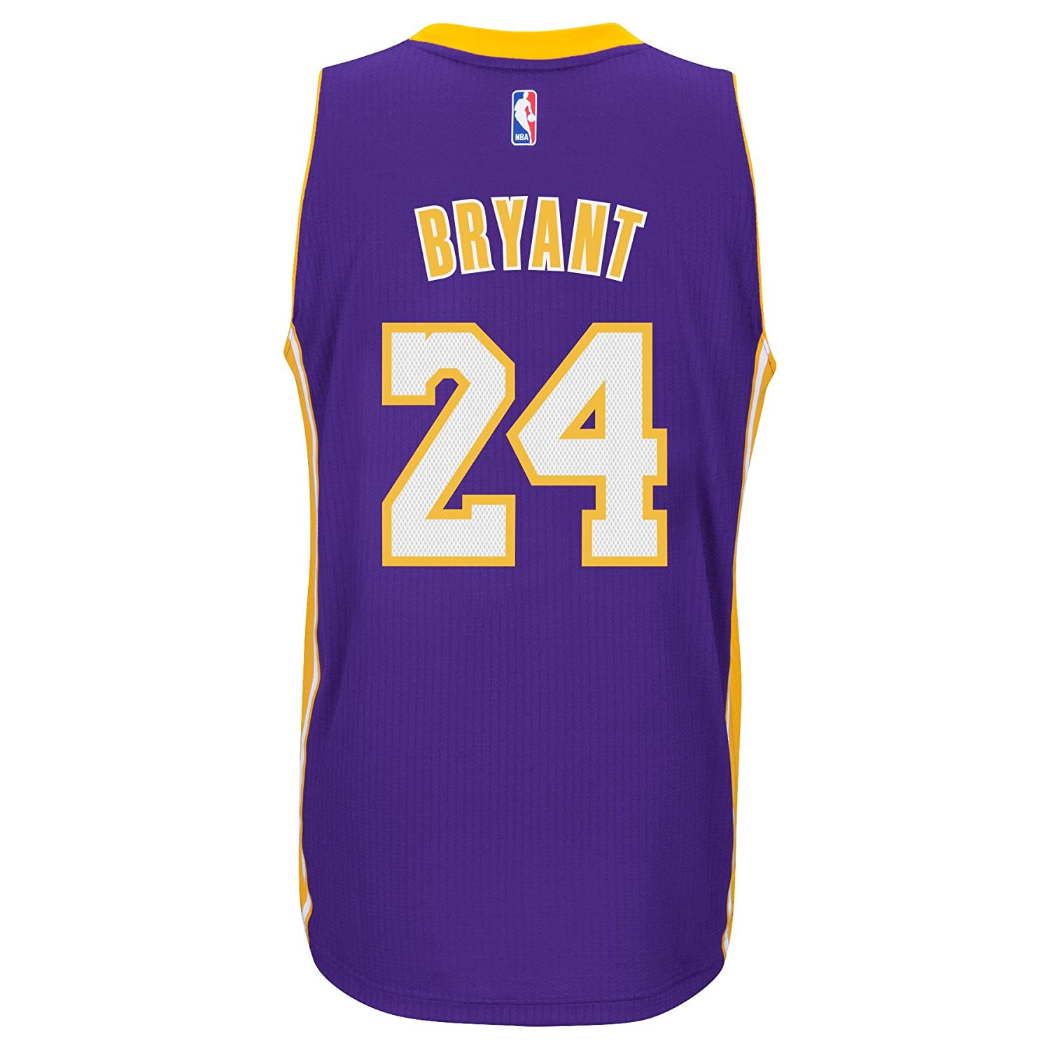 30305a06287 Amazon.com   ADIDAS Men s NBA Los Angeles Lakers Kobe Bryant Purple   Gold  Jersey (Large)   Sports   Outdoors