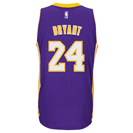 2abb725f885 Image Unavailable. Image not available for. Color  Kobe Bryant Los Angeles  Lakers Adidas Road Swingman Jersey (Purple) Small