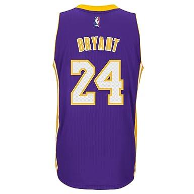 Amazon.com: Kobe Bryant Los Angeles Lakers Adidas carretera ...