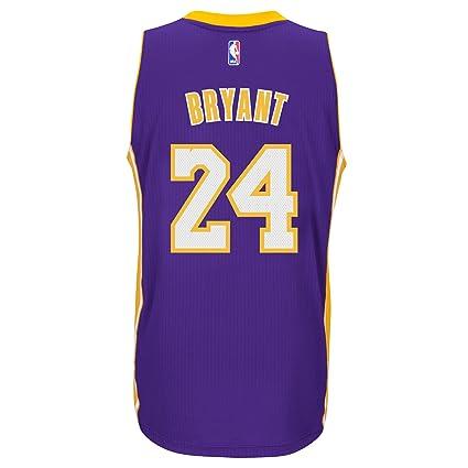 premium selection 0c164 7bbac Amazon.com : Kobe Bryant Los Angeles Lakers Adidas Road ...