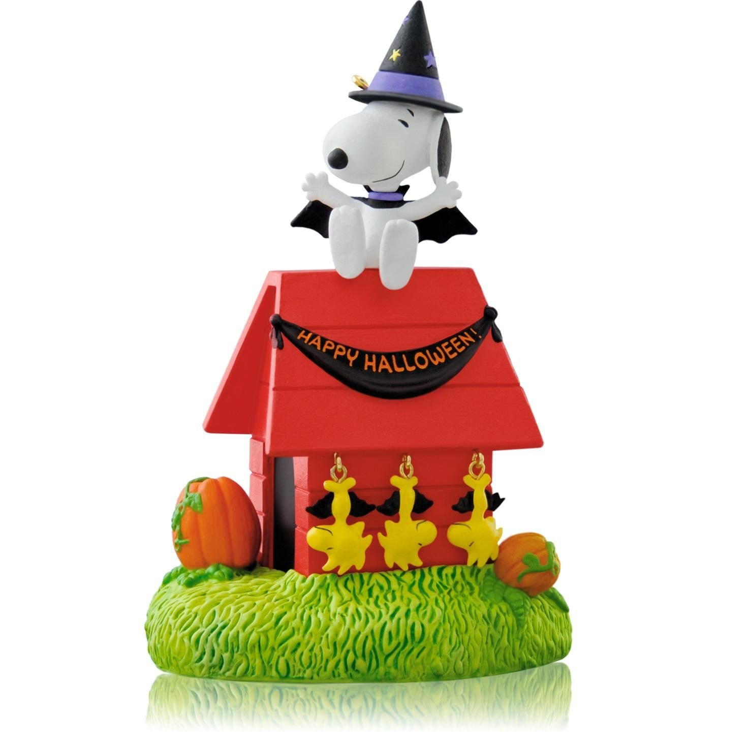 Hangin/' With Count Snoopy 2014 Hallmark Keepsake Ornament QFO5203