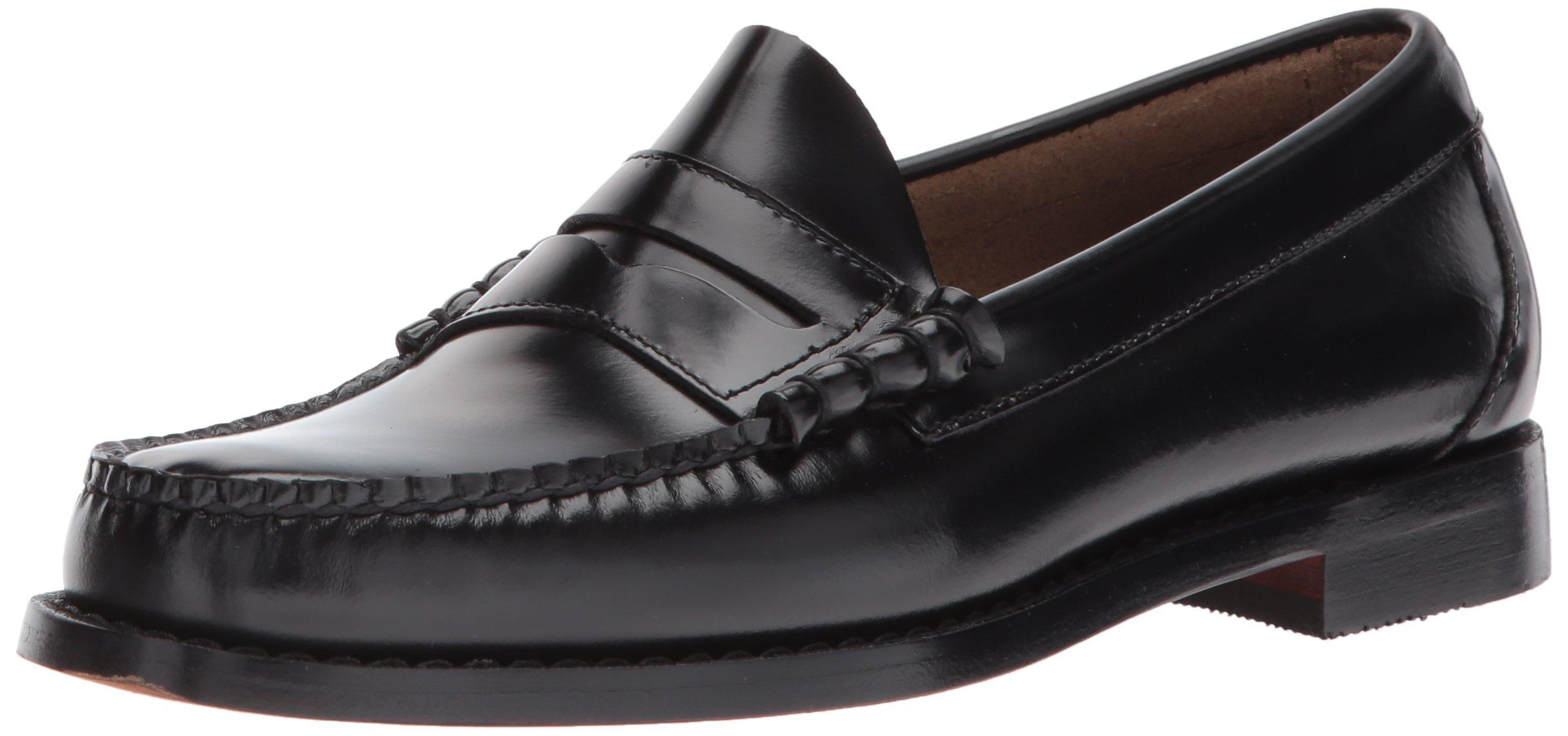 G.H. Bass & Co. Men's Larson Penny Loafer,Black,10.5 D US