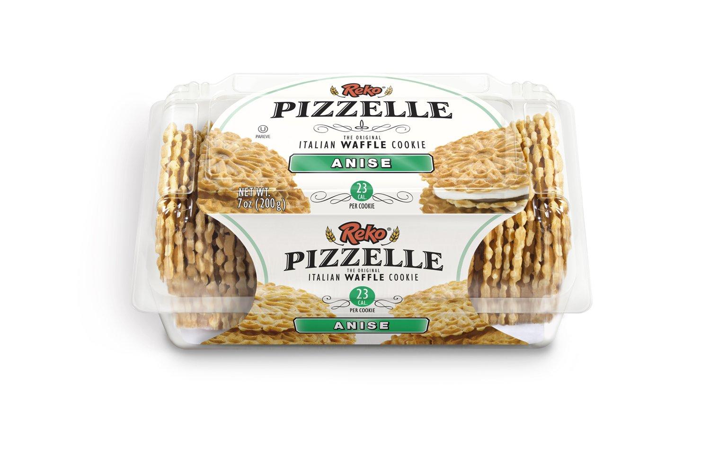 Amazon.com: Reko Anise Pizzelle cookies (Case of 12)