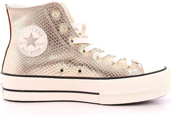 Converse Chuck Taylor All Star High Light Gold Sneaker