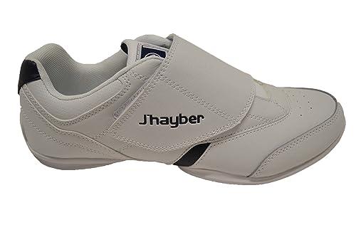 JHayber Wajane - Zapatillas Deportivas de Piel para Hombre, con Cierre de Velcro (41