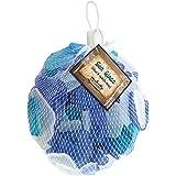 Gathered, by BCI Crafts GGLSBWC-10 Decorative Sea Glass, Blue & White Mix