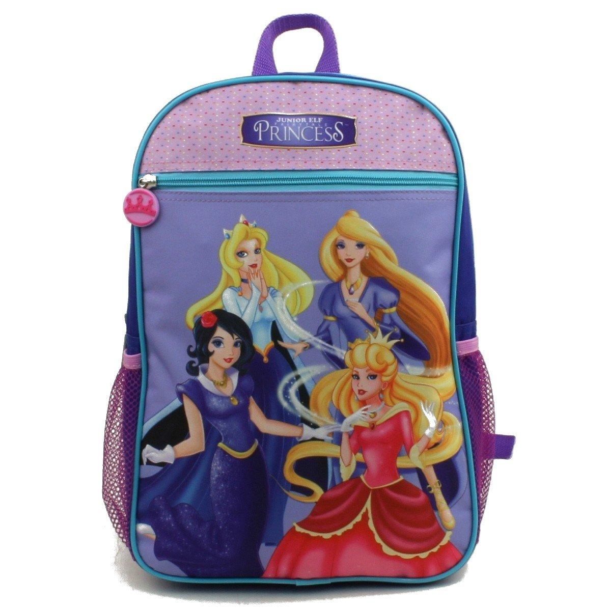 15'' Wholesale Junior Elf Princess Backpack - Case of 24