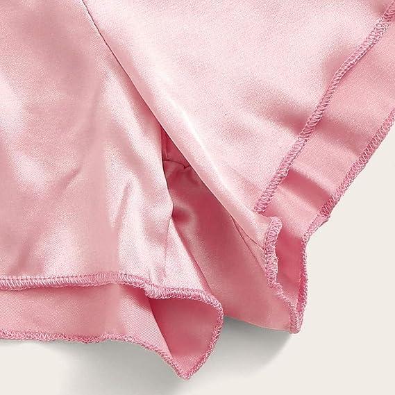 Amazon.com: YKARITIANNA 2019 - Conjunto de pijama de encaje ...