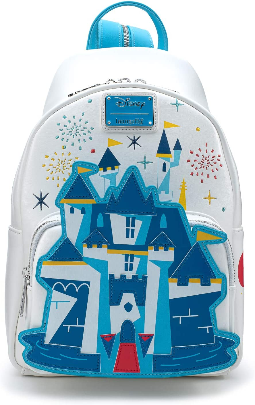 Disney 65th Funko Loungefly Disney Castle Sling to Mini Backpack
