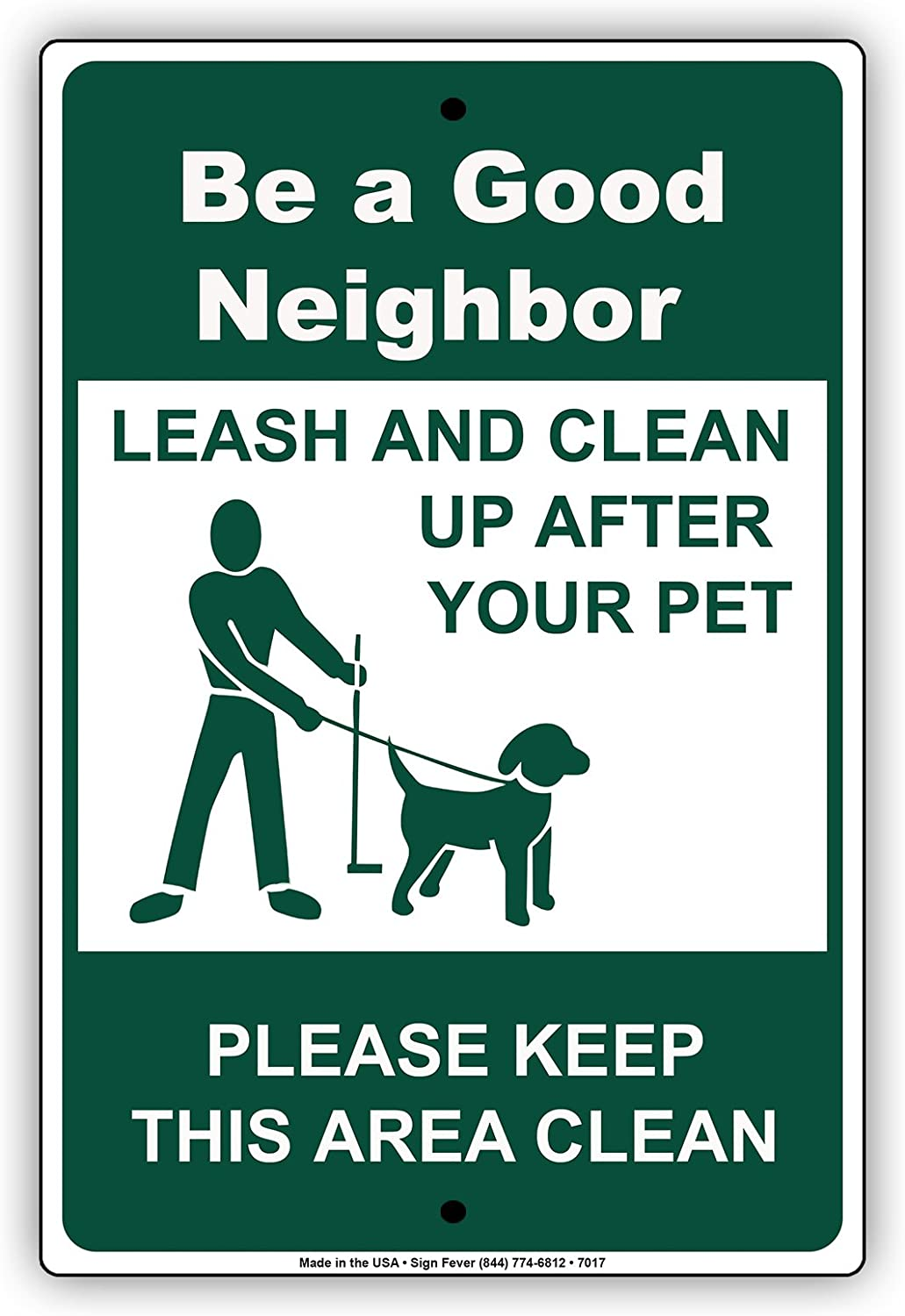 Leashes Required Beyond This Point Pet Animal Sign Aluminum METAL Sign
