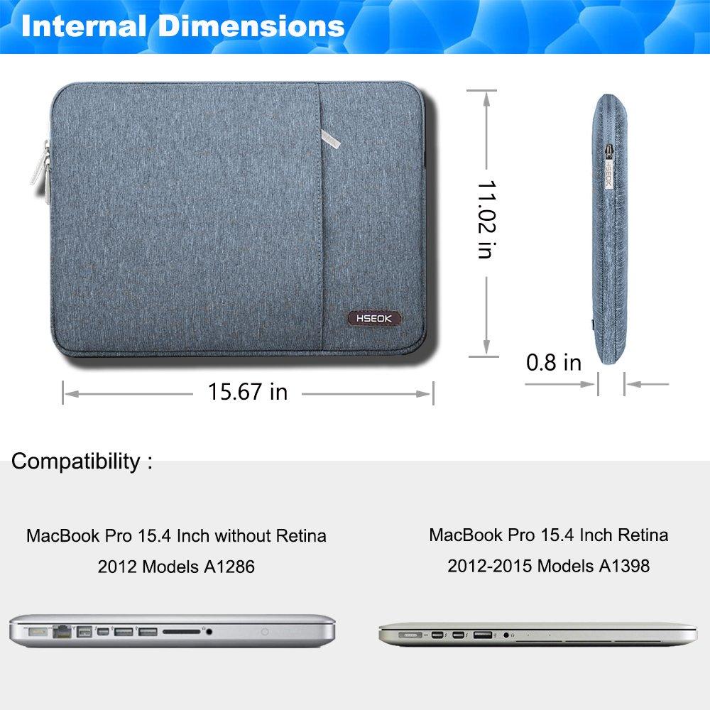 Lenovo//Acer Ausu HSEOK 15,6 Zoll Laptop H/ülle Tasche,Sto/ßfeste Wasserdicht PC Sleeve kompatibel mit die meisten 15,6 Zoll Laptops Dell//HP Schwarz