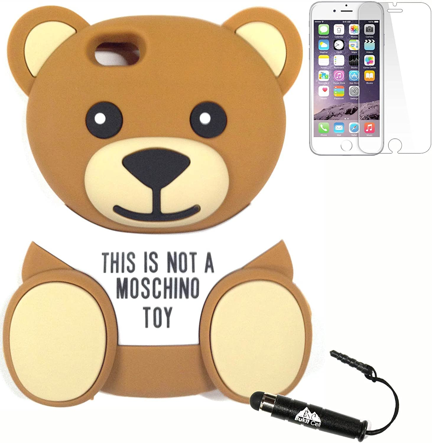 cover iphone this is not a moschino toy