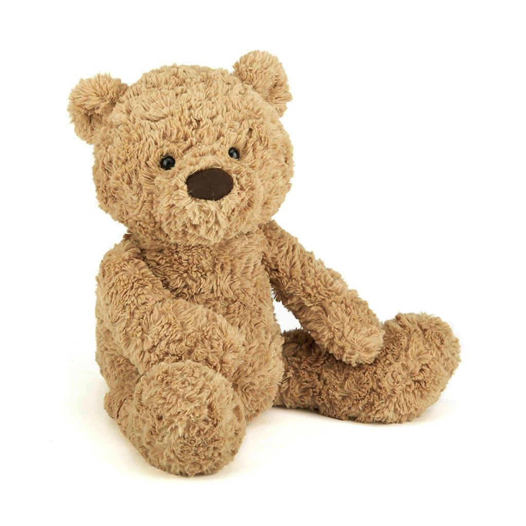 Jellycat Bumbly Bear Stuffed Animal, Medium, 17 inches
