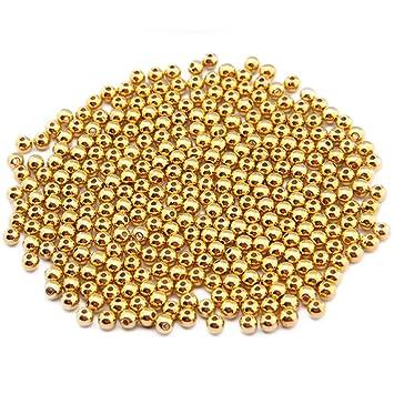 100 Stück Wachsperlen 8 mm champagner Bastelperlen Perlenketten