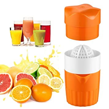Mano Exprimidor Limón Naranja Exprimidor, hoxaney rotación cítricos exprimidor de prensa exprimidor y lima –