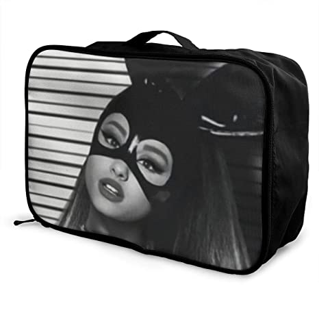bd6aa1485523 Amazon.com: GEWKHKI Ariana Grande Travel Duffel Bag Portable Storage ...