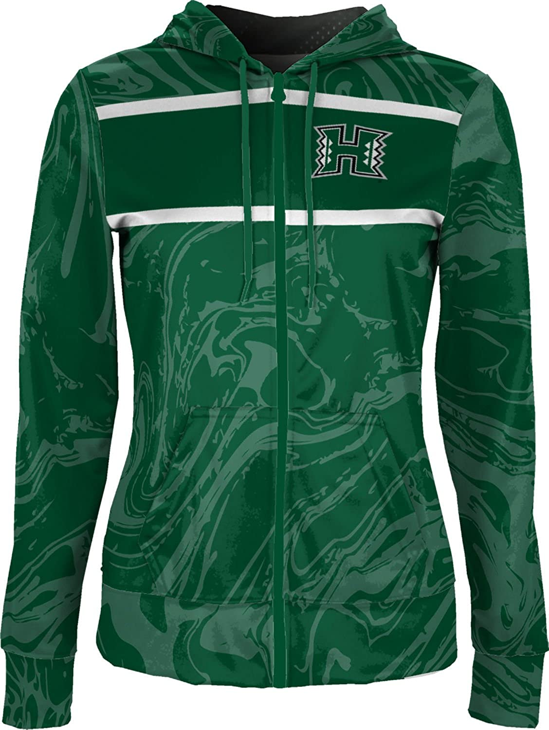 ProSphere University of Hawaii Girls Zipper Hoodie Ripple School Spirit Sweatshirt