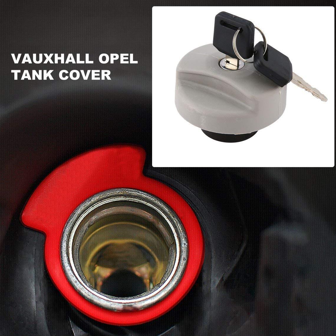 Couvercle de r/éservoir de carburant de voiture pour Vauxhalls pour les pi/èces ext/érieures dautomobiles Opels