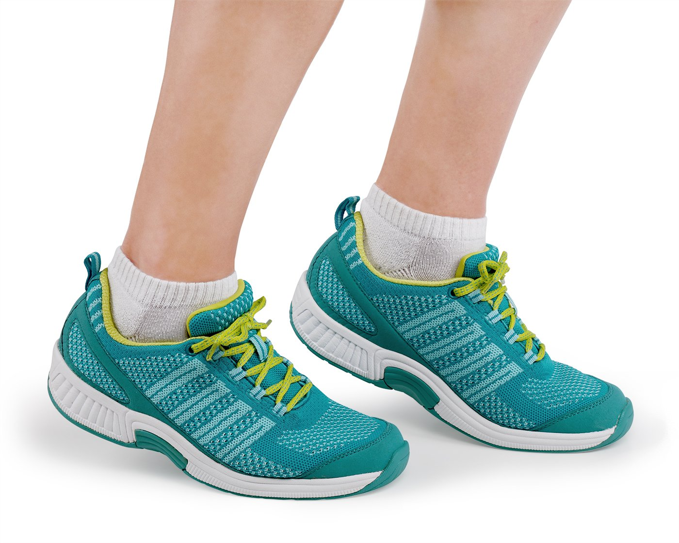 Orthofeet Proven Pain Relief Coral Women's Orthopedic Diabetic Athletic Sneaker B01MZZSMGV 7 XW US|Turquoise