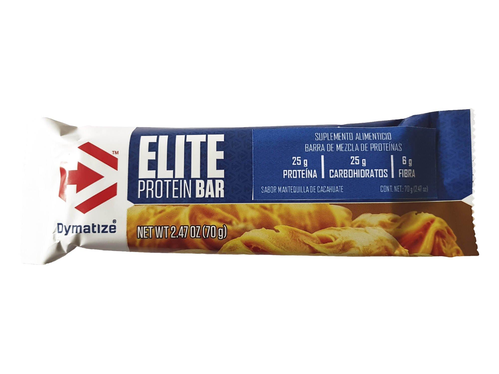 Dymatize Elite Protein Bar, Peanut Butter, 29.6 Ounce