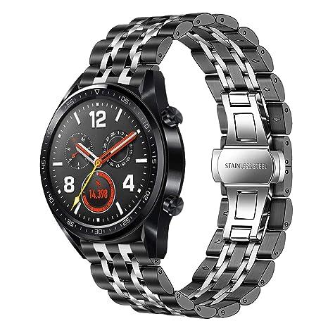 TRUMiRR Compatible con Huawei Watch GT Elegant/Huawei Watch ...