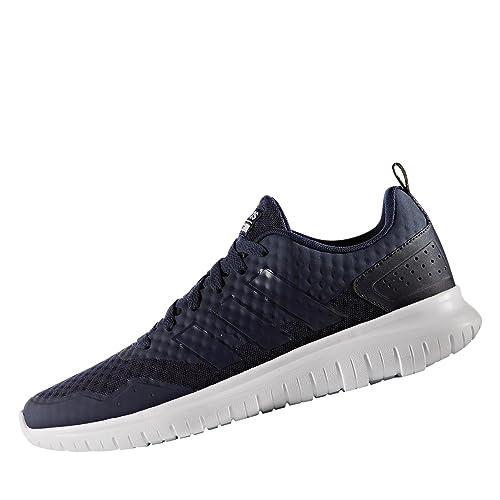 b3c4236912d7 adidas NEO Cloudfoam Lite Flex Mens Sport Trainer Shoe Navy Blue- UK ...