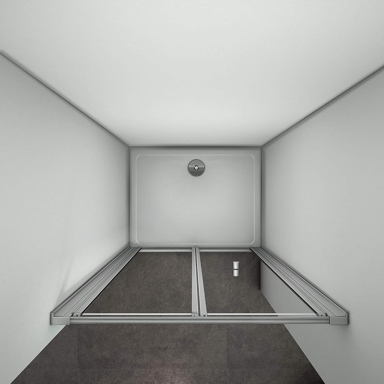 700mm Bifold Shower Door Shower Enclosure Screen Glass Cubicle Door