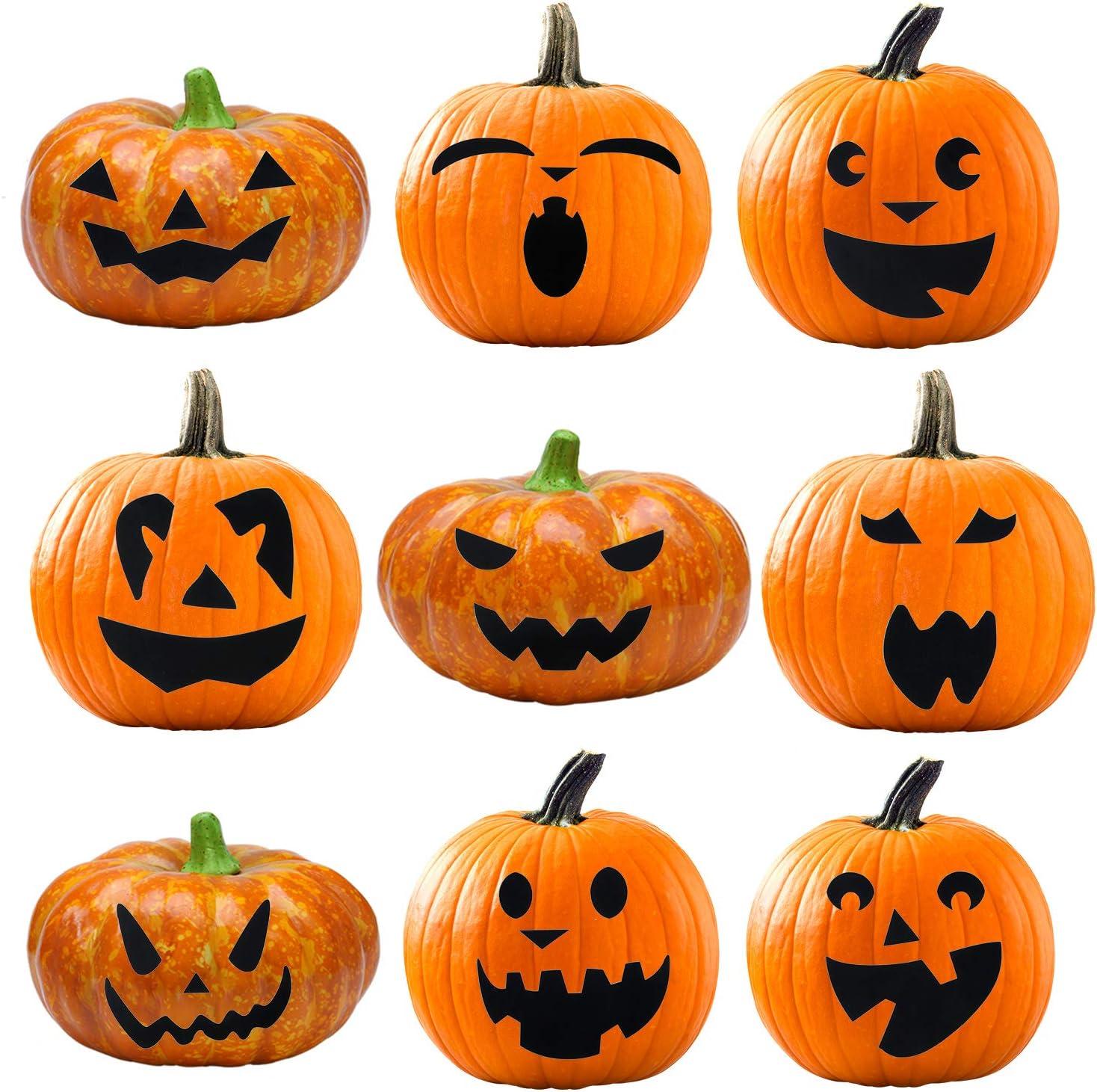 Amazon Com Elcoho Pumpkin Decorating Craft Kits Halloween Pumpkin