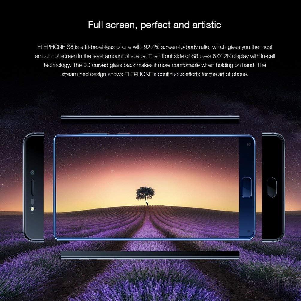 SHUANGCONG Elephone S8 6.0 Inch 2K 1440x2560 10 Core 4+64G 4000mAh ...