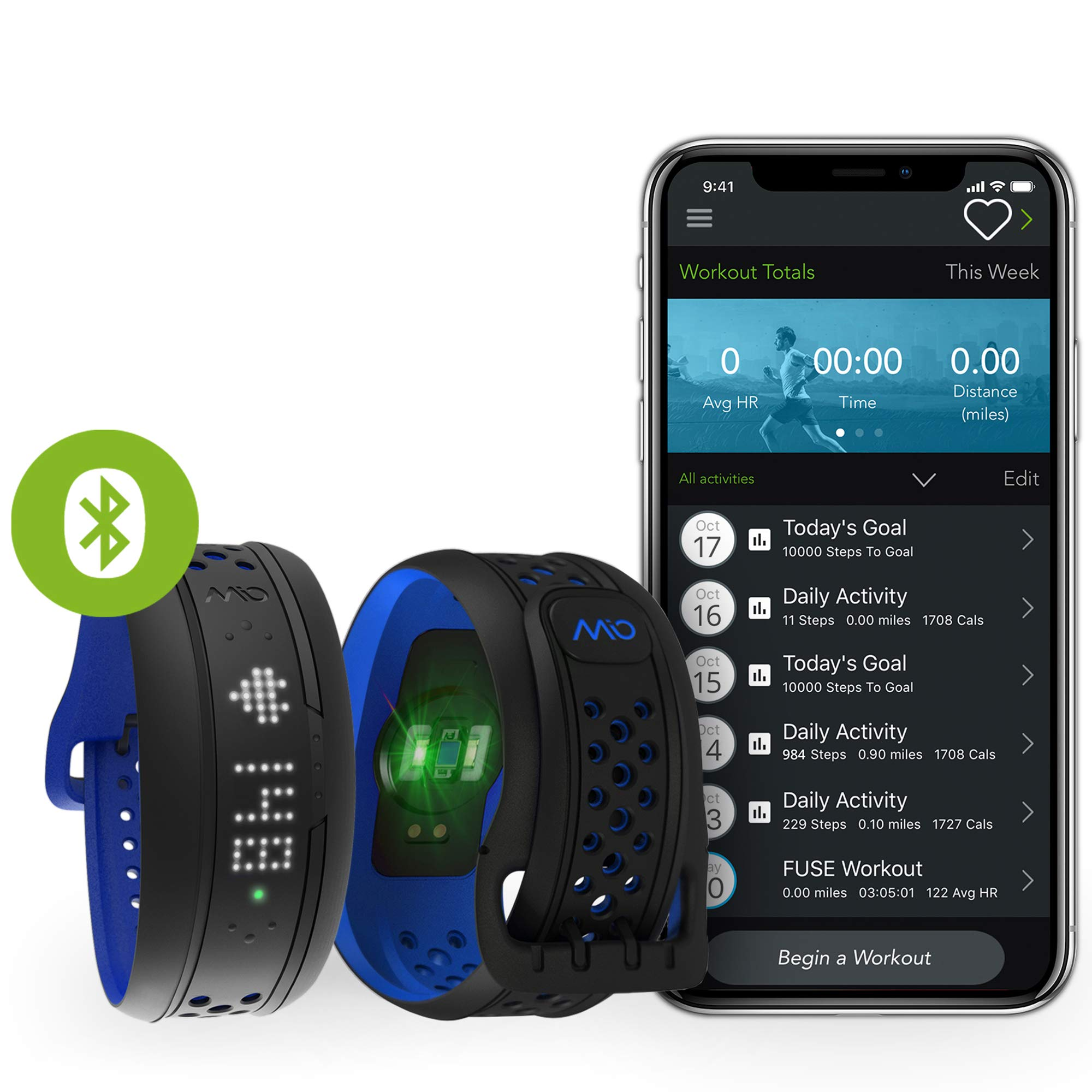 Mio FUSE Heart Rate, Sleep + Activity Tracker by Mio