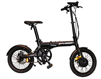"Xplorer Bicicleta Electrica E-bike Mini 16"""