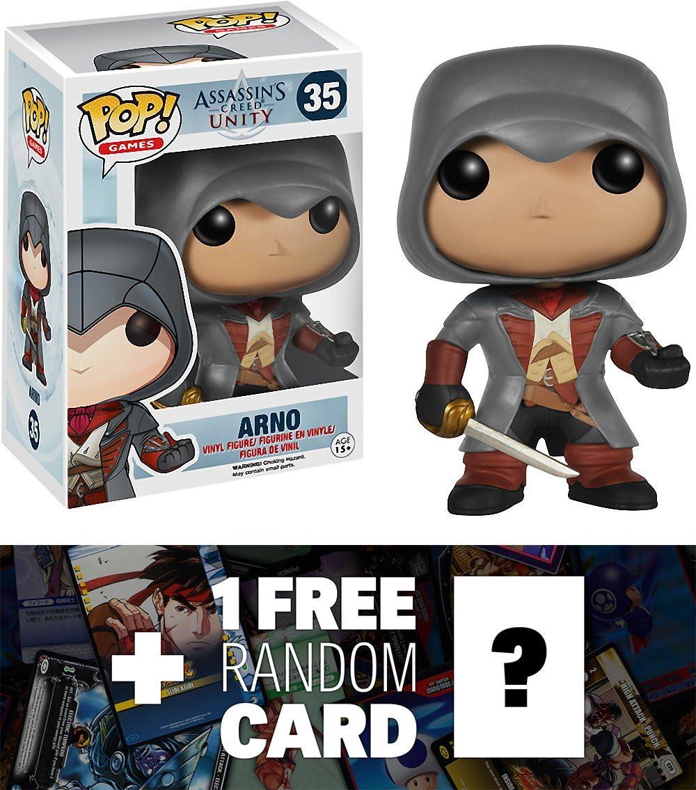 Amazon Com Assassin S Creed Arno Funko Pop X Vinyl Figure 1