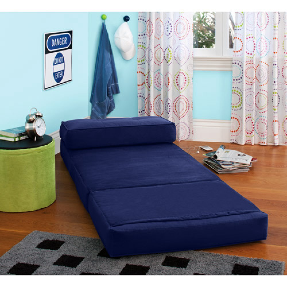 Your Zone - Flip Chair Convertible Sleeper Dorm Bed Couch ...