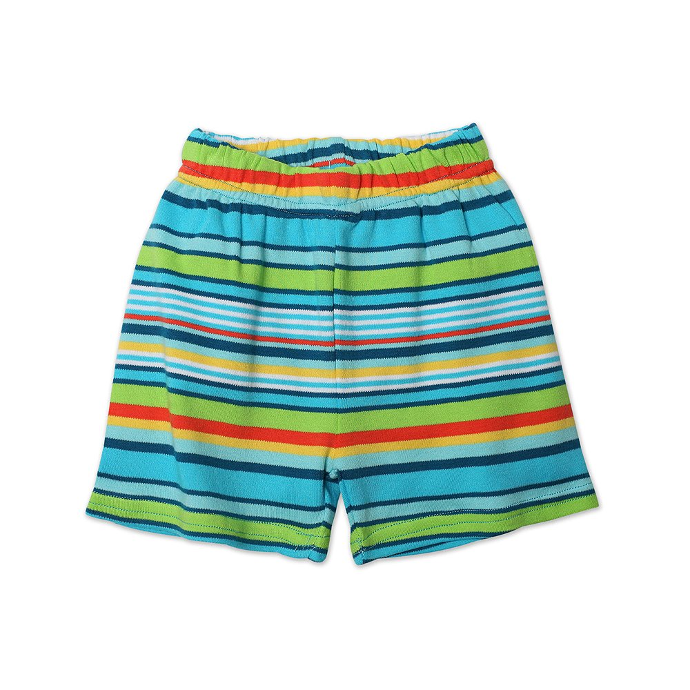 Zutano Baby Boys Multi Stripe Short Pool 18 Months