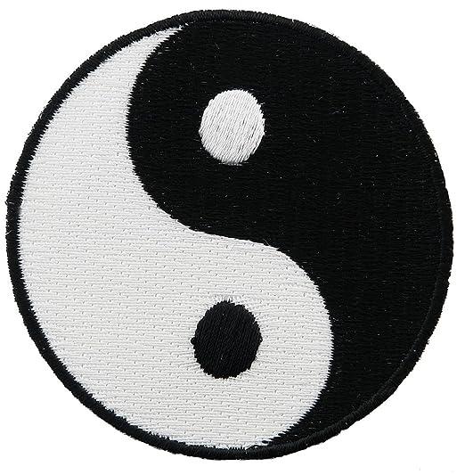Amazon Yin Yang Embroidered Patch Iron On Chinese Taoism Symbol