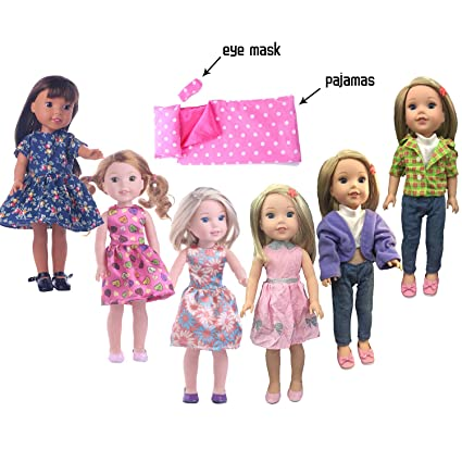 """Doll Clothes 3 Pack  Underwear For 14.5/"""" Wellie Wishers American Girl Accesssory"""