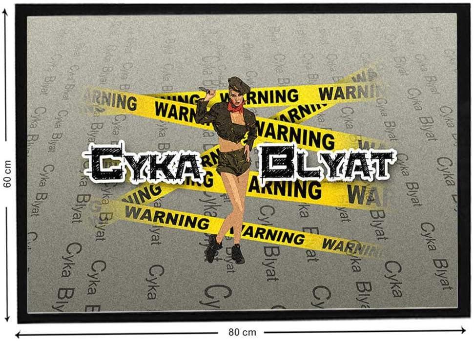 Felpudo insulto Cyka blyat Counter Strike Global Offensive: Amazon.es: Hogar