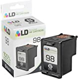 LD Remanufactured Replacement Ink Cartridge for Hewlett Packard C9364WN (HP 98) Black