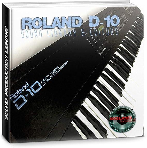para ROLAND D-10 enorme fábrica original y nueva biblioteca ...