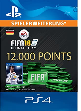 Fifa 18 Ultimate Team 12000 Fifa Points Ps4 Download Code