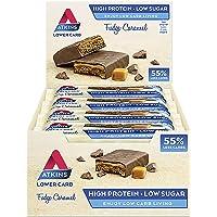 Atkins ADV Fudge Caramel Barritas - Paquete